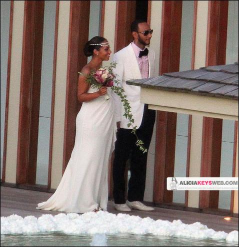 Swizz Beatz Amp Alicia Keys Wedding Photos Rudeboyy