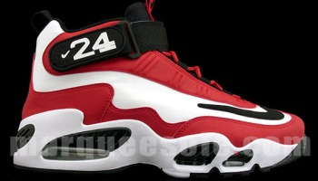 Nike Air Griffey Max Pure Platinum/Black Ballislife