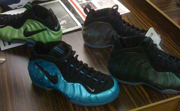 First Look: Nike Air Foamposite One Gold Lime SBD