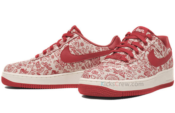 Nike Women S Air Force 1 Low Valentine S Day Amor Rudeboyy Com