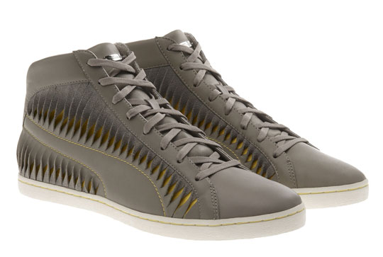 bee4839e02f Alexander McQueen for Puma Twisted Leather High Top