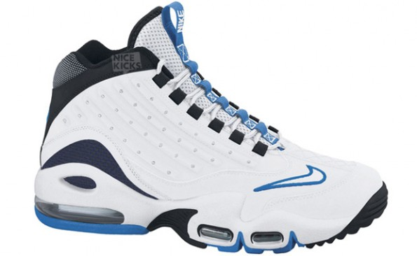 dbae6fc988 This month, we've seen the white / orange Nike Air Griffey Max II colorway  and here's two more versions. No set date on the top pair but the Navy/White  Pair ...