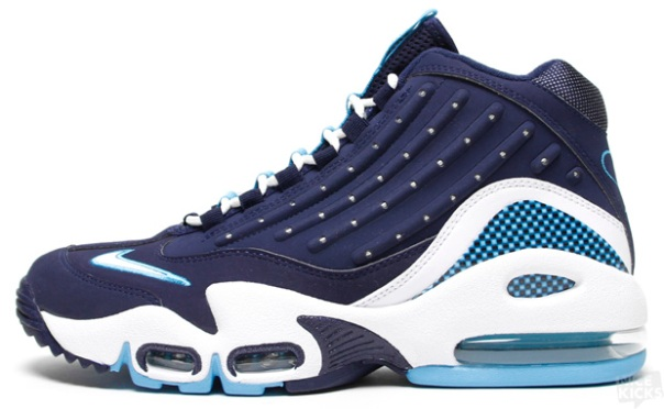 first rate f790a 4dd0c Nike Air Griffey Midnight Navy White-Chlorine Blue