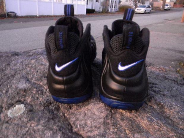 Nike Air Foamposite Pro Pearl Jam Black Royal Shoes