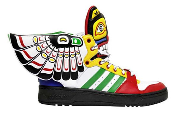 "timeless design 9c75f 91366 Jeremy Scott x adidas Wings 2.0 ""Totem""   Rudeboyy.com"
