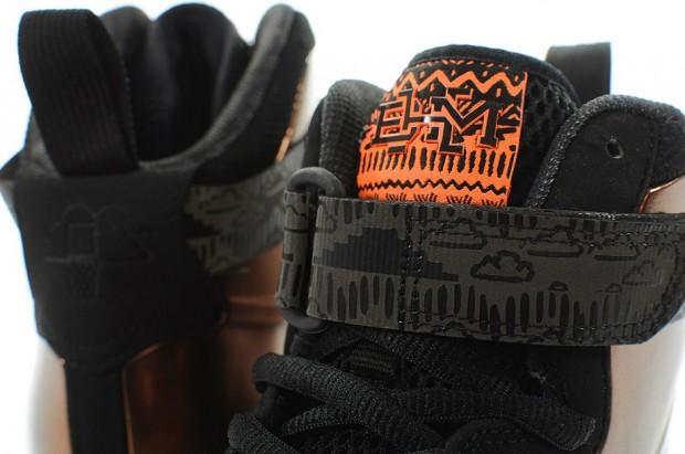Safari Nike Air Foamposite One Detailed Images