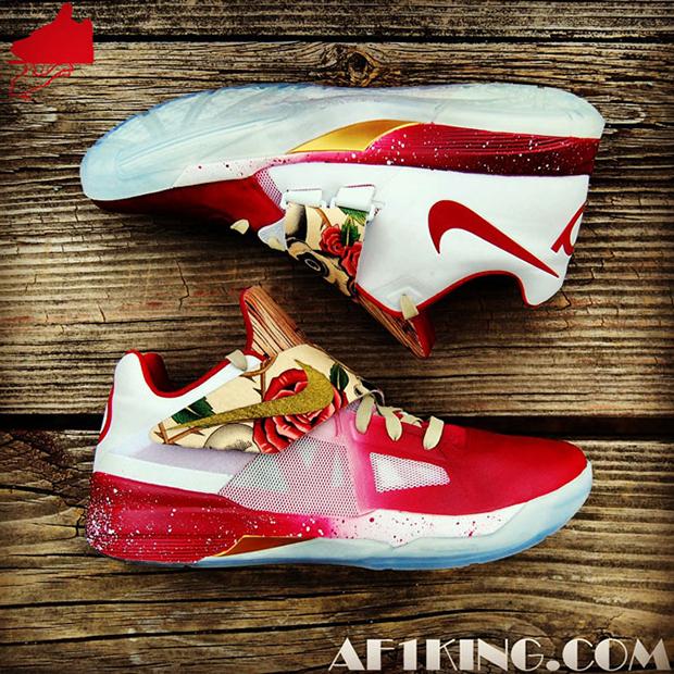 """... KD4-BeforeHeRose-4  Nike Zoom KD IV """"RealTree Camo"""" Custom ... b8ce92a55"""
