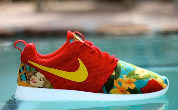 Nike roshe run island girl