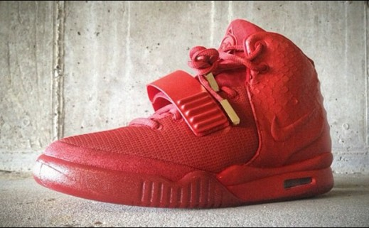 "wholesale dealer 5670e 440cb Nike Air Yeezy 2 ""Red October"" Custom"