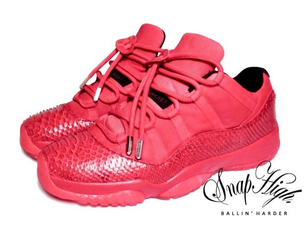 Air-Jordan-11-Low-Red-October-Custom-1