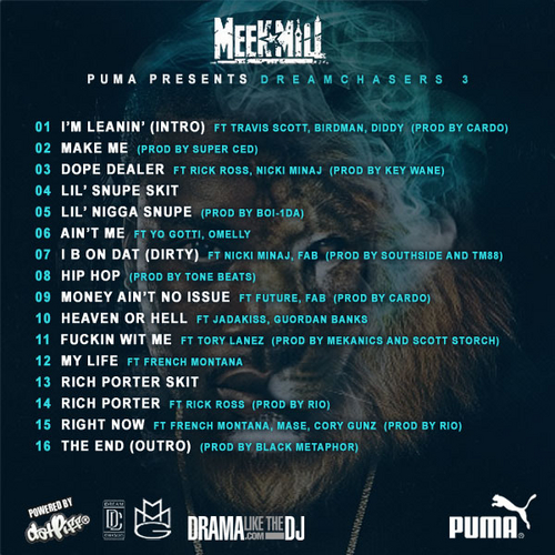 dreamchasers 3 mixtape