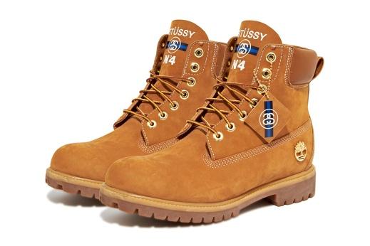 new style c442e 593eb stussy-timberland-boots-2