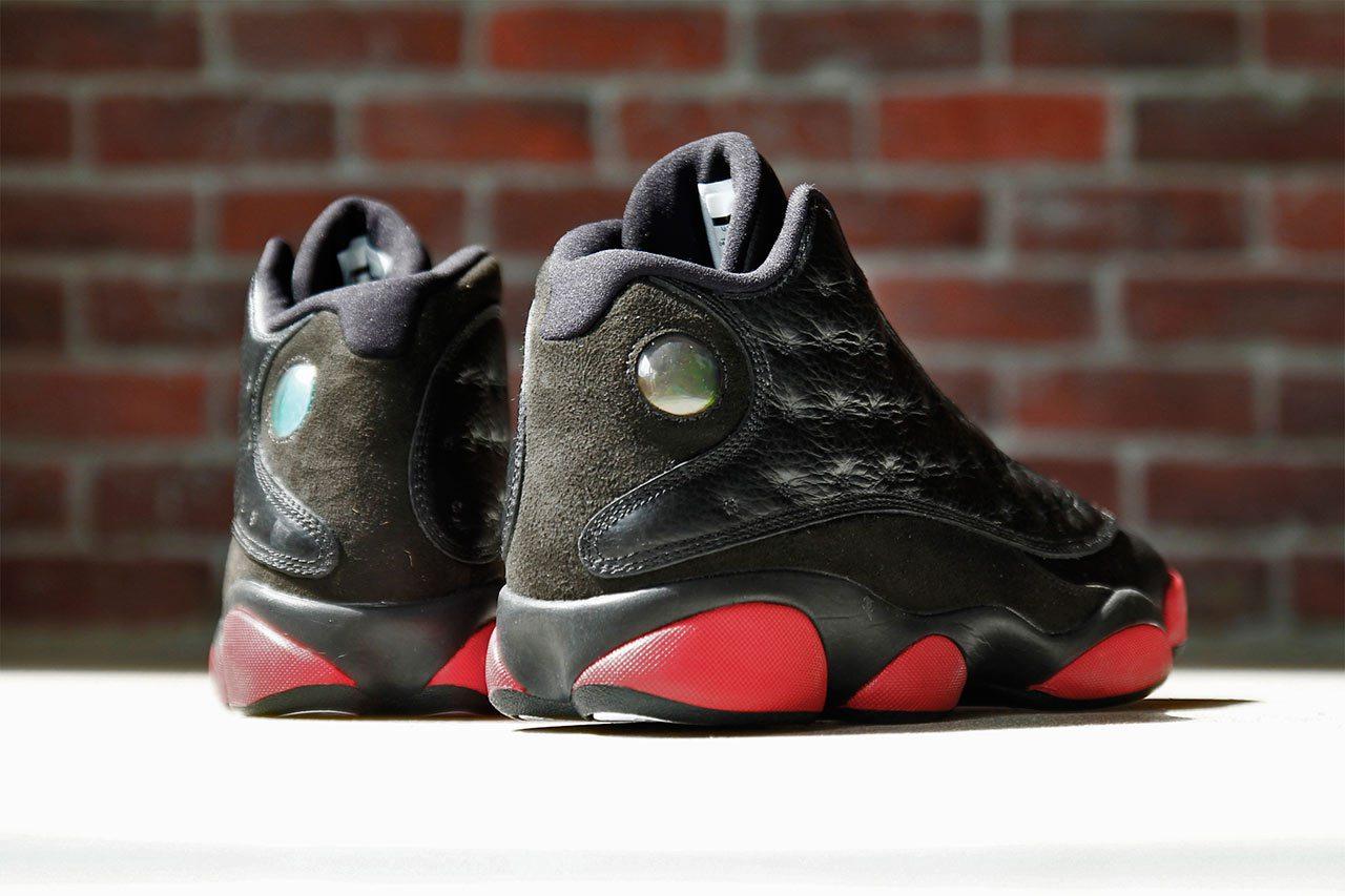 Air Jordan 13 Black Red Leather  567db50c1bae