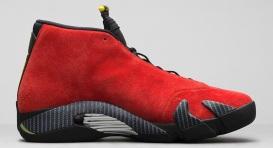 Air-Jordan-14-Ferrari-Red-Suede-Official-5