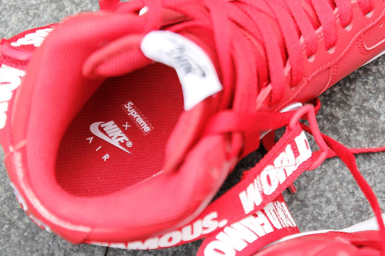 Supreme X Nike Air Force 1 Ad Alta Potenza Buy RIPfLJlW