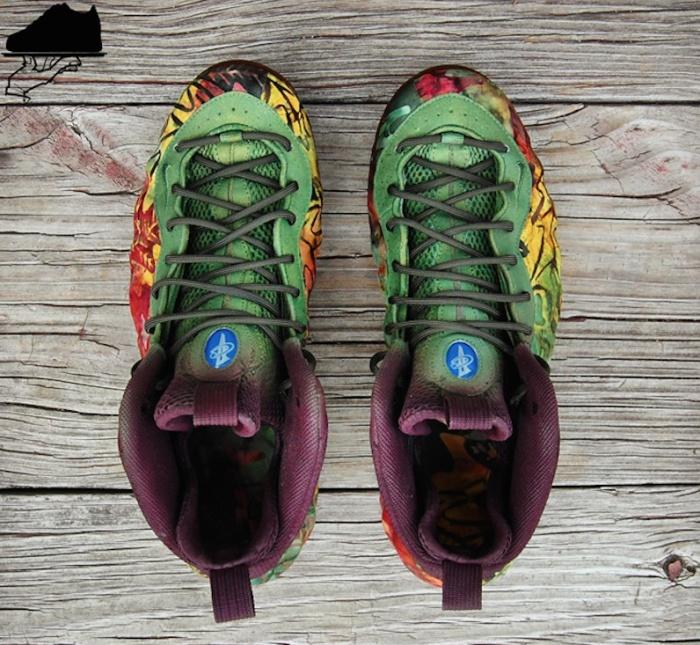 "huge discount db795 039dd Nike Air Foamposite One ""FallPosite"" Custom   Rudeboyy.com"