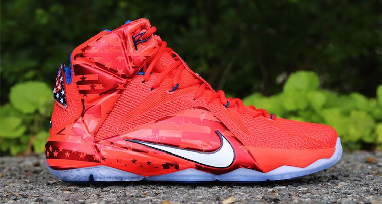 """88ebfc7aeac2 Nike LeBron 12 """"USA"""""""