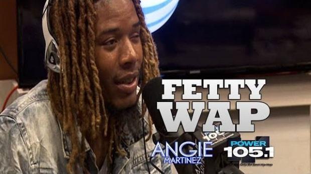 Video: Fetty Wap Interview w/ Angie Martinez | Rudeboyy com