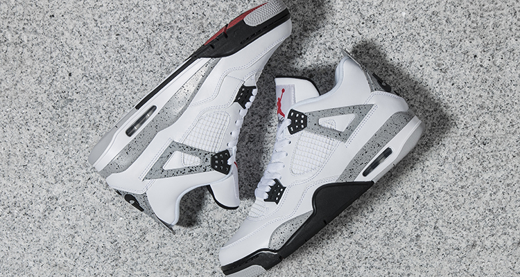 Air-Jordan-4-White-Cement-