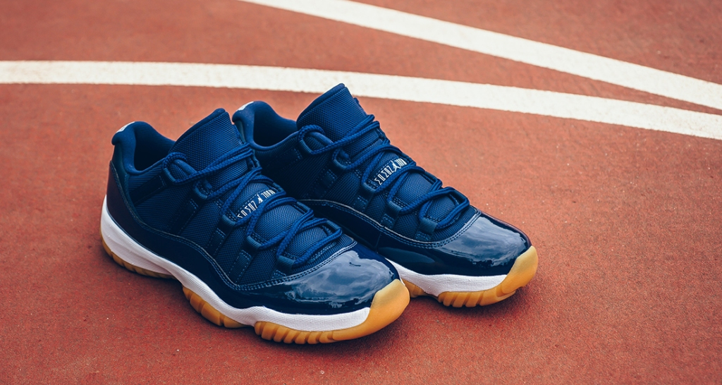 Air-Jordan-11-Low-Navy-Gum-
