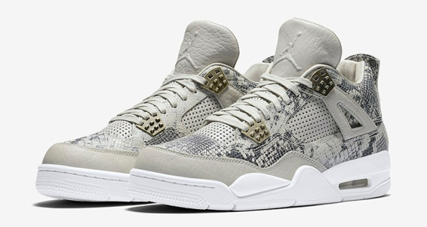 "Image result for Air Jordan 4 Retro Pinnacle ""Snakeskin"""