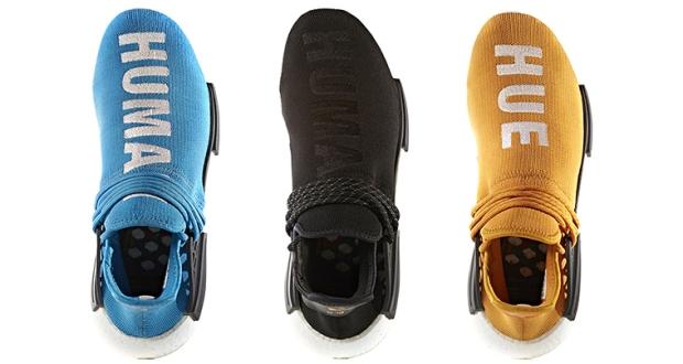 "937896b1f Pharrell x adidas NMD ""Human Race"" Releasing In Five New Colorways ..."