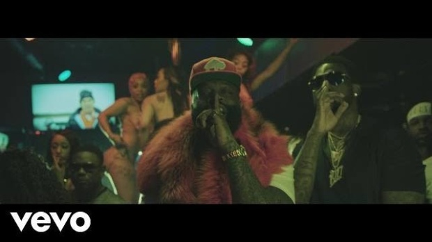 "e9f28febc6e Video: Rick Ross ft. Gucci Mane ""She On My Dick"" 