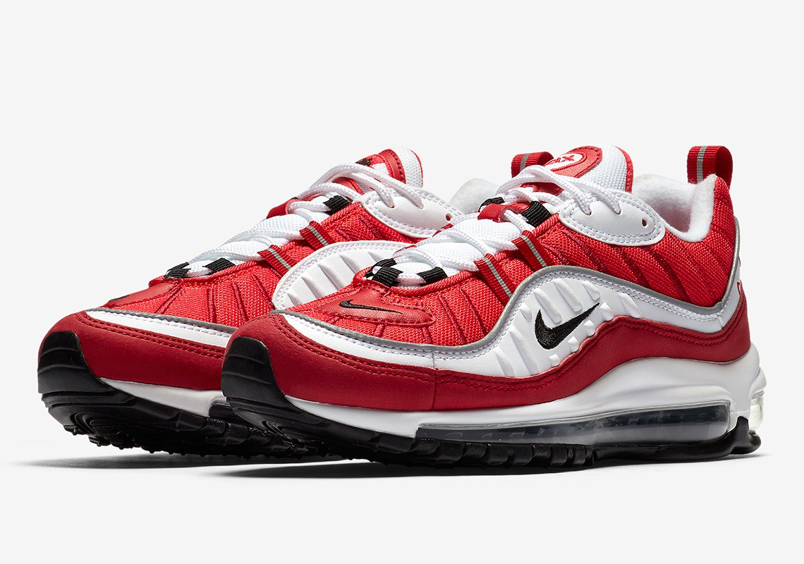 Nike Air Max 98 Red/White