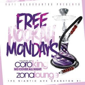 Free Hookah Mondays