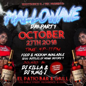 hallowave day party