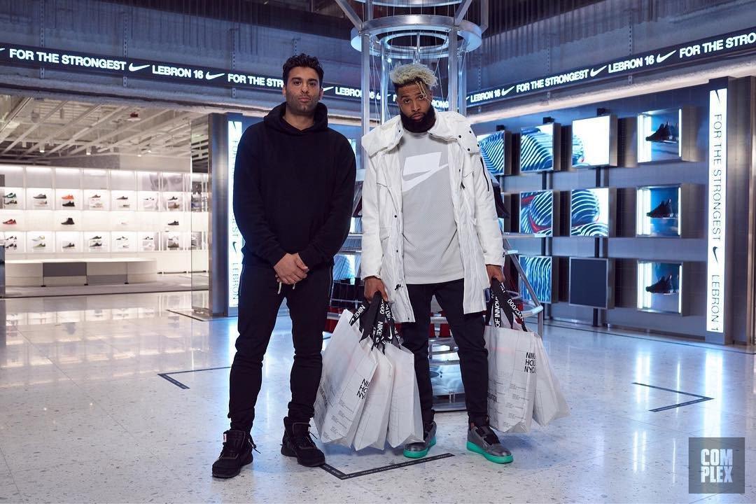 Odell Beckham Jr. Goes Sneaker Shopping