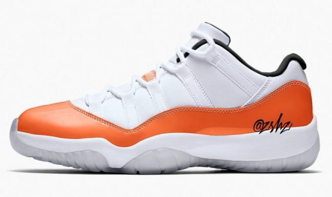8115843aa7b171 The Air Jordan 11 Low WMNS Orange Trance is a brand new women s exclusive  iteration of the silhouette that will be arriving in 2019.