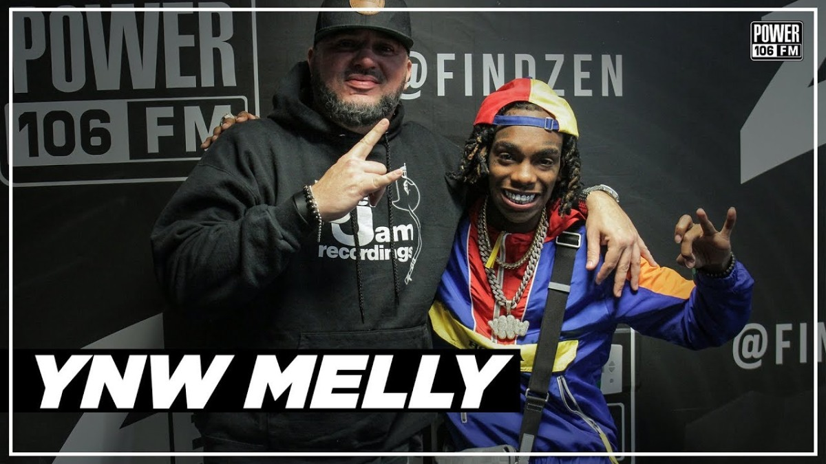 YNW Melly On Kanye West Flying Him To LA & Naming New Yeezys After Him.