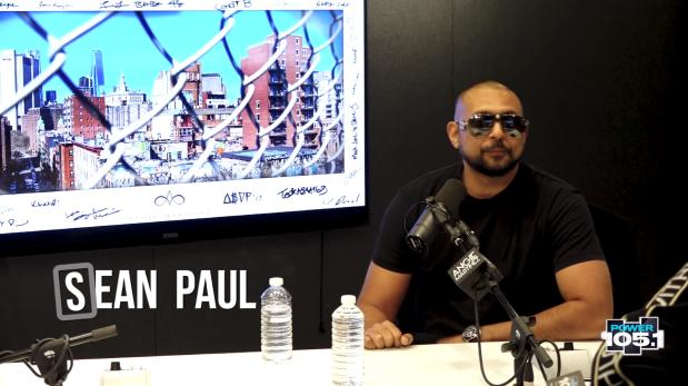 "Sean Paul Talks Competing w/ ""Baby Shark"", Creating"