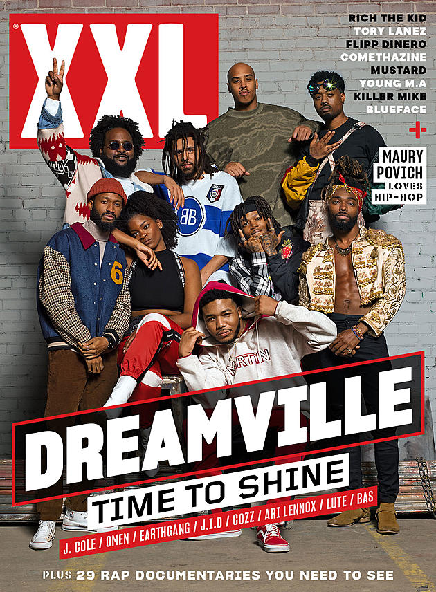 b4758ebf1944 J. Cole and the entire Dreamville crew appear on the cover of XXL s 2019  Spring Issue. Check out the full cover story here.